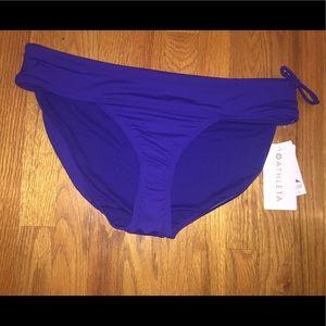 Athleta sapphire blue side tie bottom - XL